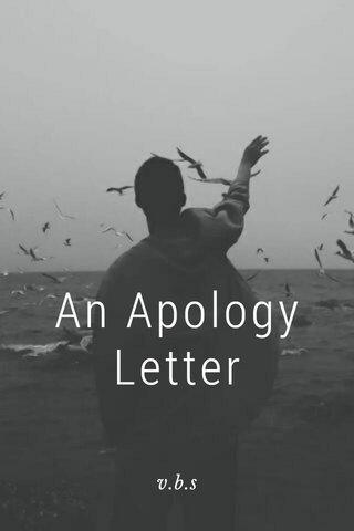 An Apology Letter v.b.s