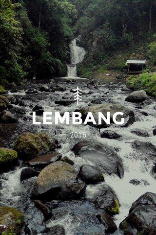 LEMBANG 2016