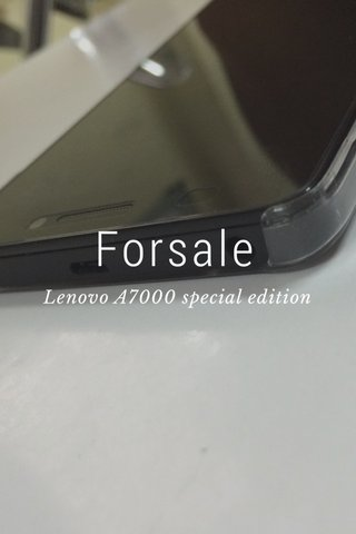 Forsale Lenovo A7000 special edition