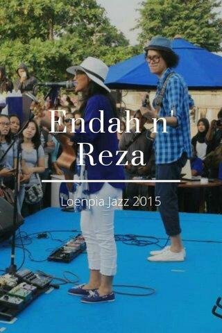 Endah n' Reza Loenpia Jazz 2015