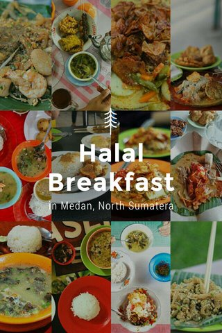 Halal Breakfast in Medan, North Sumatera