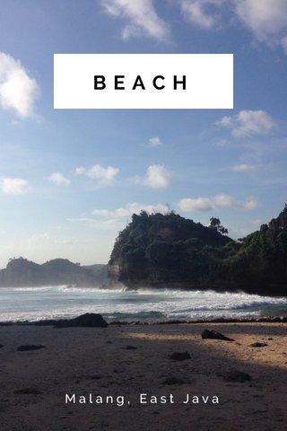 BEACH Malang, East Java