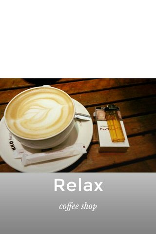 Relax coffee shop