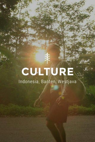 CULTURE Indonesia, Banten, Westjava