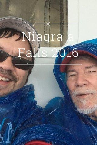 Niagra a Falls 2016