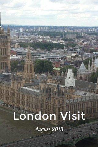 London Visit August 2013