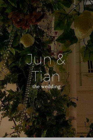 Jun & Tian the wedding