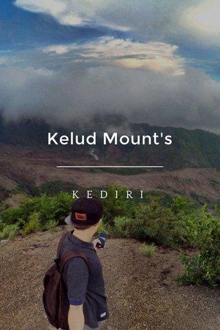 Kelud Mount's KEDIRI