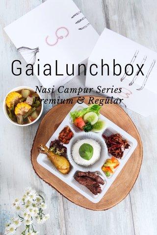 GaiaLunchbox Nasi Campur Series Premium & Regular