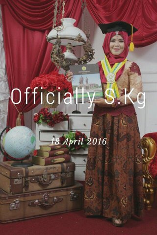 Officially S.Kg 18 April 2016