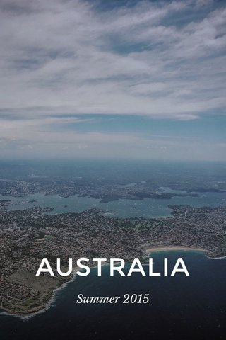 AUSTRALIA Summer 2015