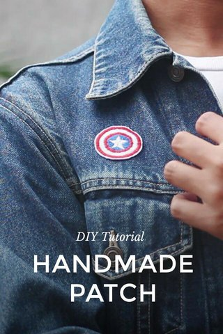 HANDMADE PATCH DIY Tutorial