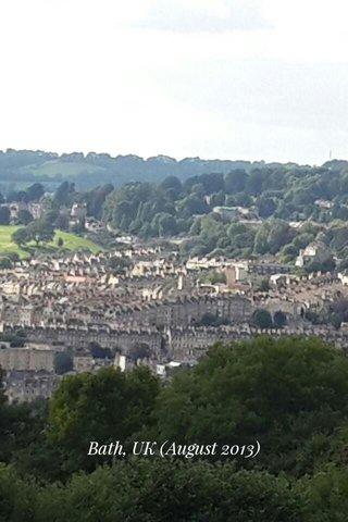 Bath, UK (August 2013)
