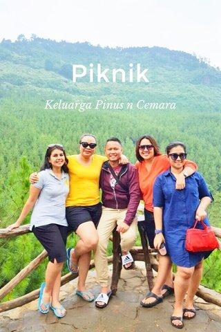 Piknik Keluarga Pinus n Cemara