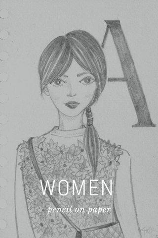 WOMEN pencil on paper