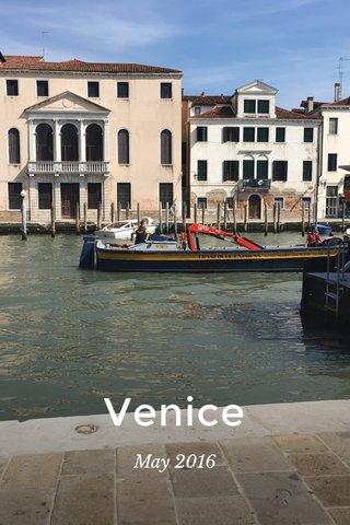 Venice May 2016
