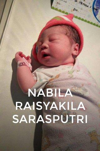 NABILA RAISYAKILA SARASPUTRI