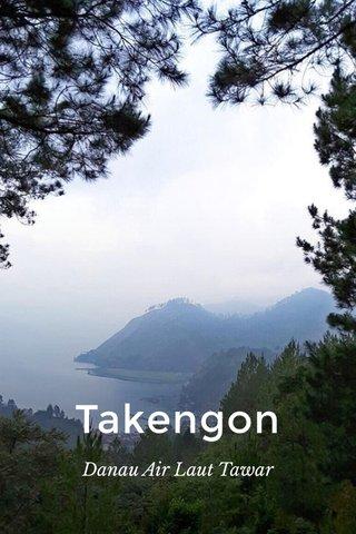 Takengon Danau Air Laut Tawar