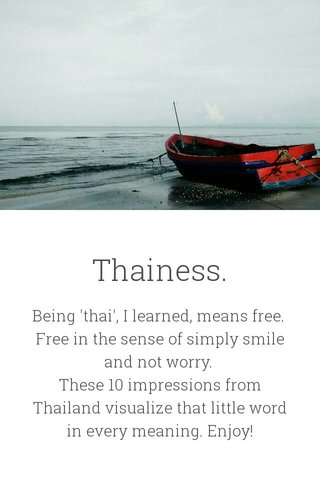 Thainess.