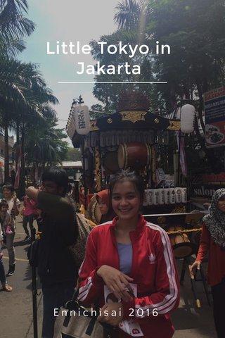 Little Tokyo in Jakarta Ennichisai 2016
