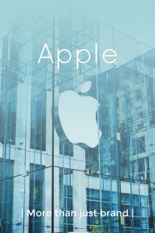 Apple | More than just brand |