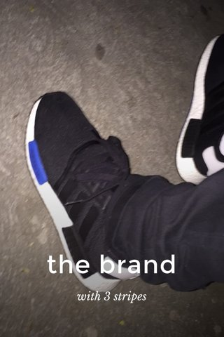 the brand with 3 stripes