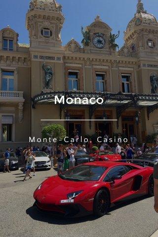 Monaco Monte-Carlo, Casino