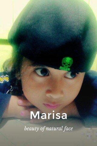 Marisa beauty of natural face