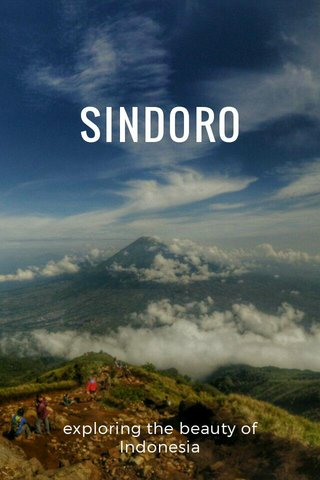 SINDORO exploring the beauty of Indonesia