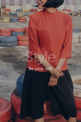 Style Be your self
