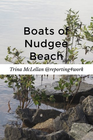 Boats of Nudgee Beach Trina McLellan @reporting4work