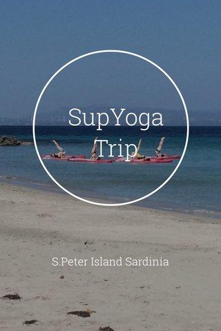 SupYoga Trip S.Peter Island Sardinia