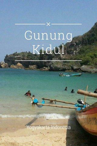 Gunung Kidul Yogyakarta Indonesia