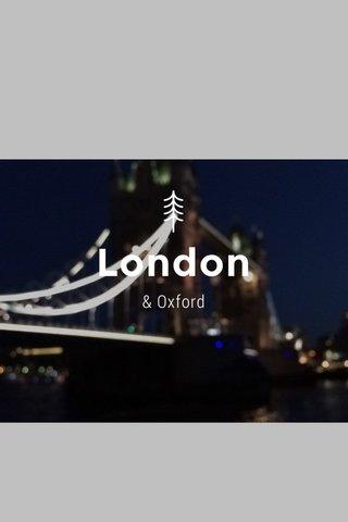 London & Oxford
