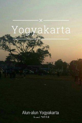 Yogyakarta Alun-alun Yogyakarta Juni 2015