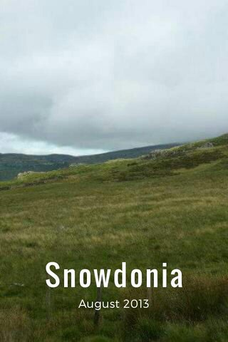 Snowdonia August 2013