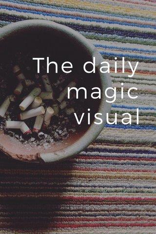 The daily magic visual
