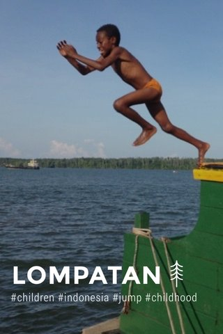 LOMPATAN #children #indonesia #jump #childhood