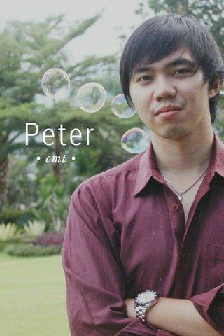 Peter • cmt •
