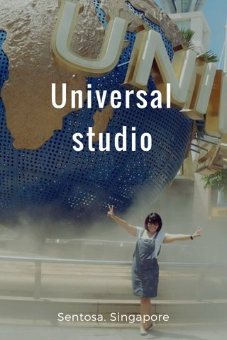 Universal studio Sentosa. Singapore