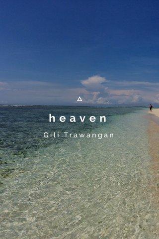 heaven Gili Trawangan