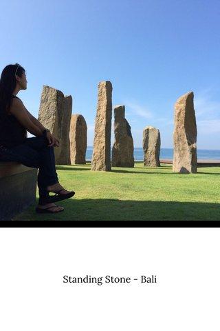 Standing Stone - Bali