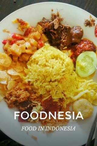 FOODNESIA FOOD IN INDONESIA