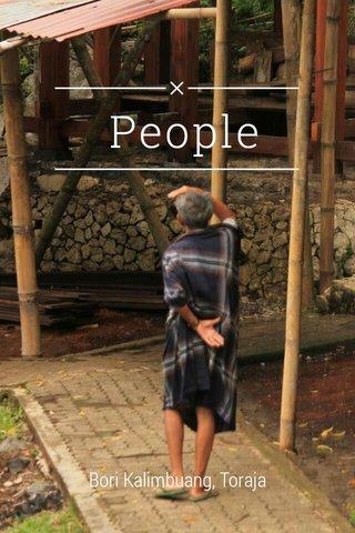 People Bori Kalimbuang, Toraja