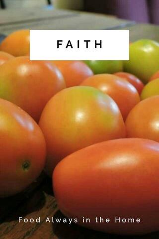 FAITH Food Always in the Home
