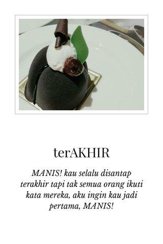 terAKHIR