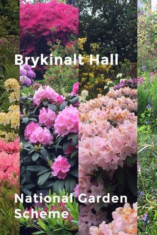 Brykinalt Hall National Garden Scheme