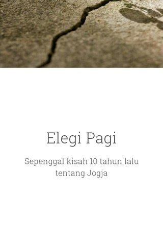 Elegi Pagi