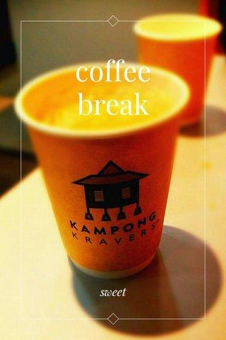 coffee break sweet