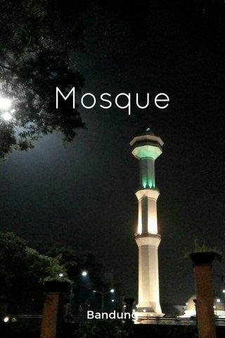 Mosque Bandung